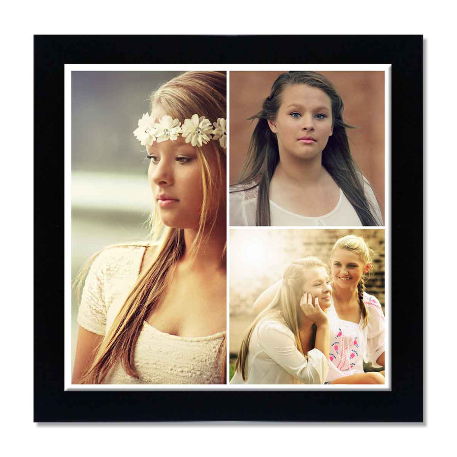Back to Squares 3 Photo Collage Poster | Creative Photo Gifts in ...