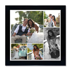 Collage Posters-Back to Squares 5 Photo Collage Poster-Print Only (Without Frame)-