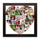 Collage Posters-I Heart You Collage Poster-Print Only (Without Frame)-