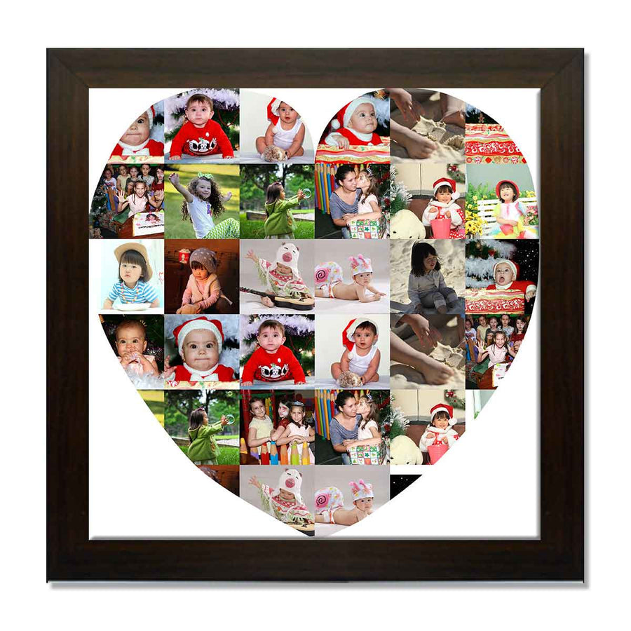 Collage Posters-I Heart You Collage Poster-