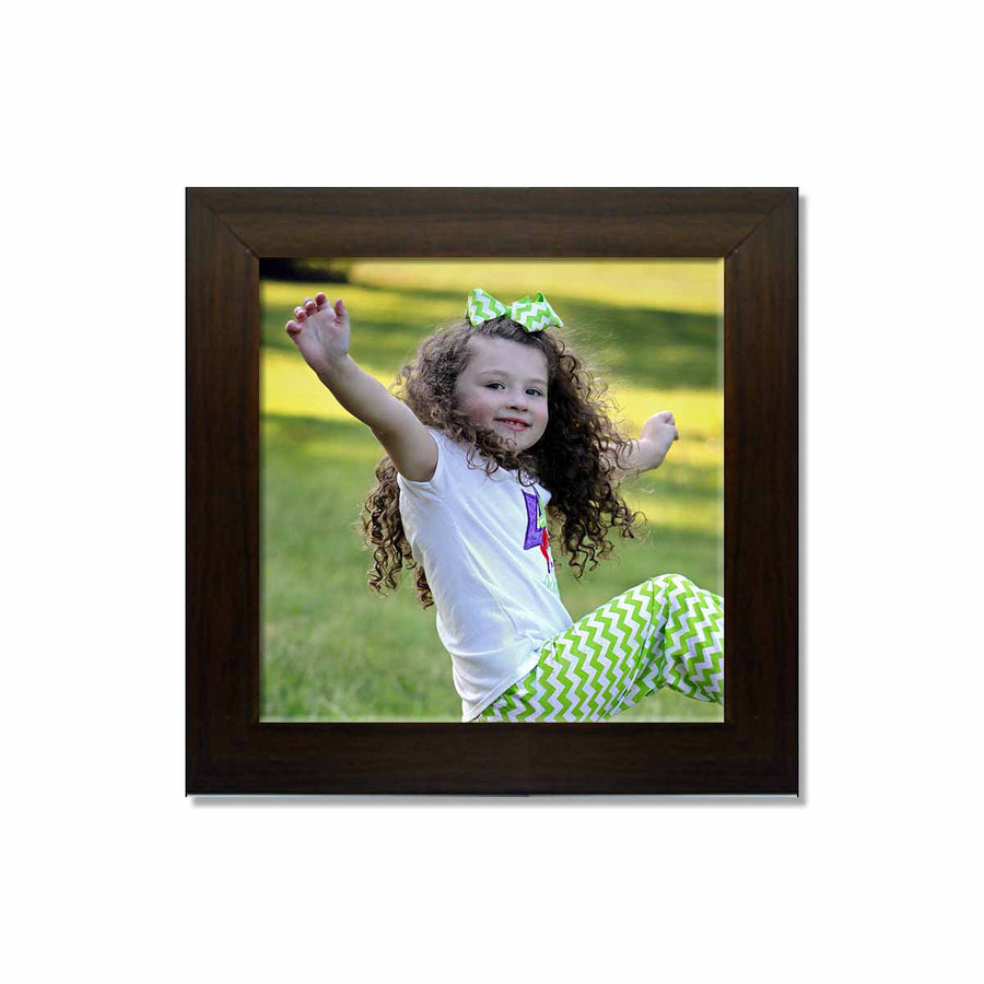 Photo Frames-Instasquare Photo Frames-12in x 12in-Brown