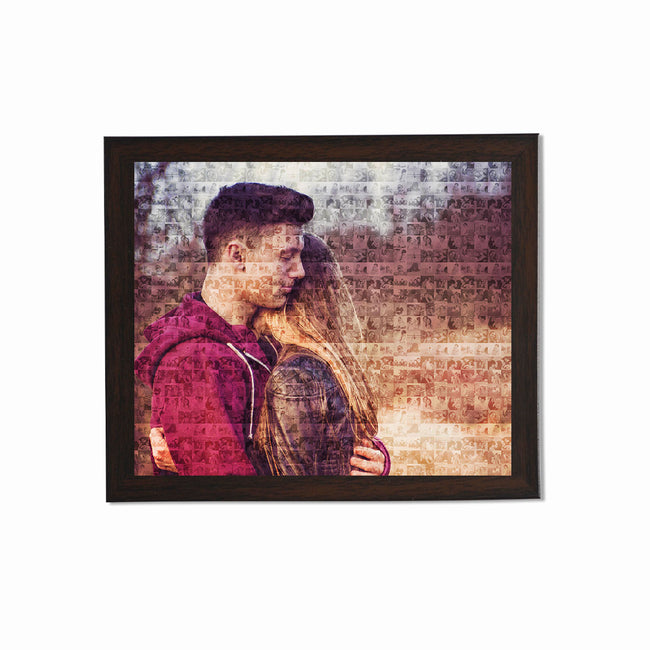Collage Posters-Photo Mosaic Collage Poster-