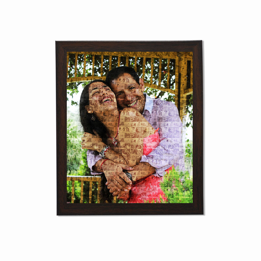 Collage Posters-Photo Mosaic Collage Poster-Print Only (Without Frame)-