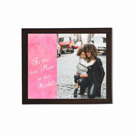 Collage Posters-Best Mom in the World Collage Poster-Print Only (Without Frame)-
