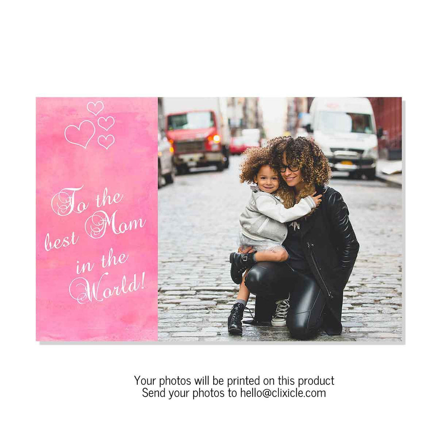 Collage Posters-Best Mom in the World Collage Poster-