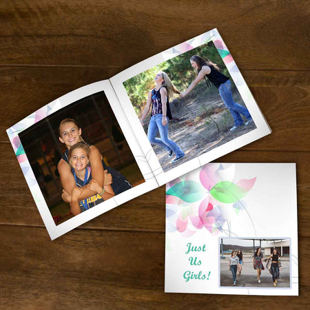 Softcover Photo Books-Just Us Flip Photo Book-