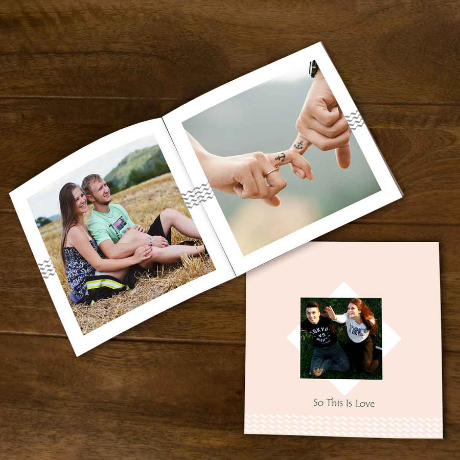 Softcover Photo Books-This is Love Flip Photo Book-