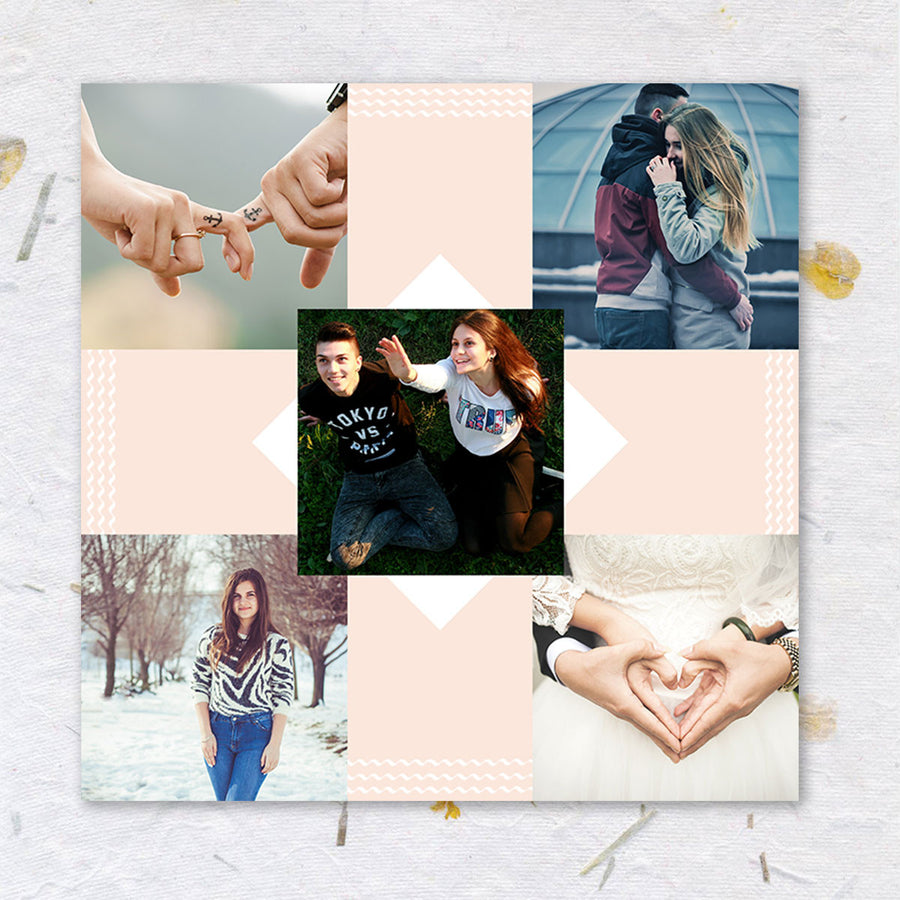 Collage Posters-This is Love Photo Collage Poster-