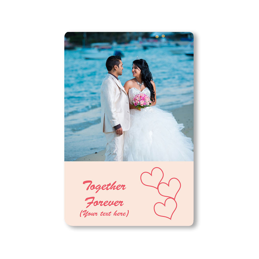 Fridge Magnets-This is Love Photo Magnet-