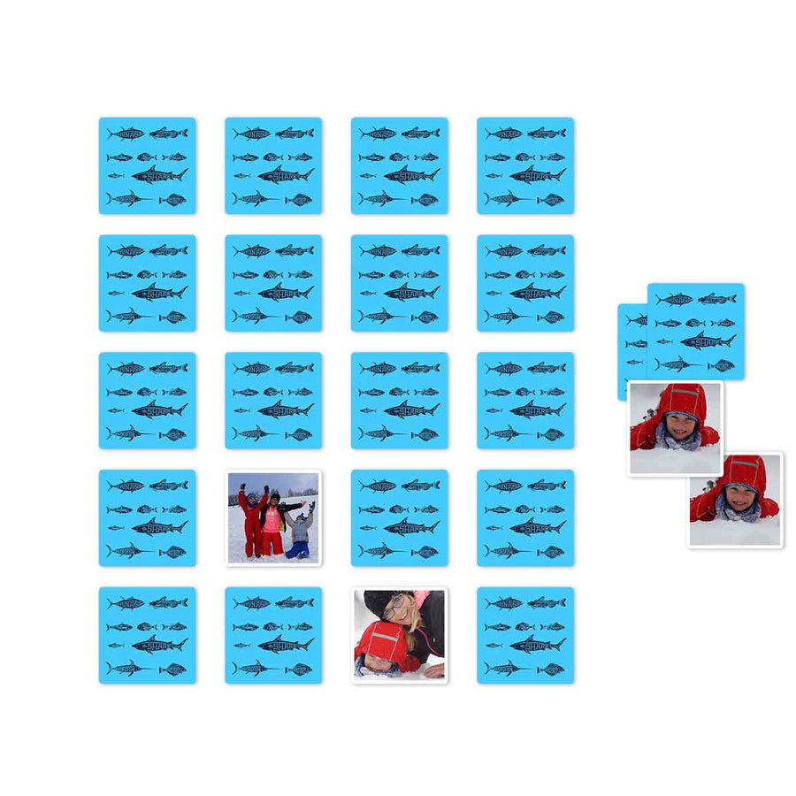 Games-Fish Memory Card Game-