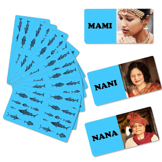 Games-Fish Flash Card Game-
