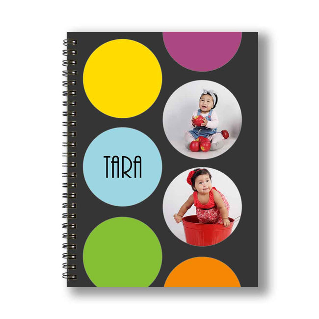 Notebooks-Bubble Trouble Personalized Notebook-