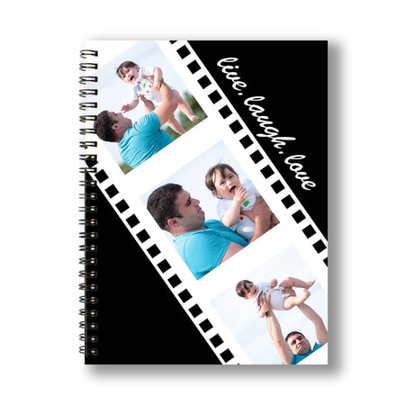 Notebooks-Negative Reel Personalized Notebook-