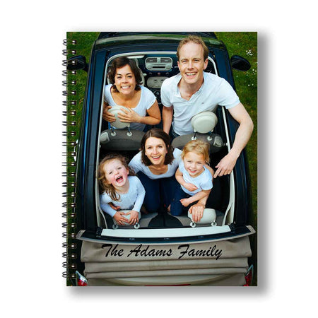 Notebooks-Photo Wrap Personalized Notebook-