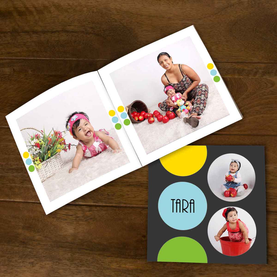 Softcover Photo Books-Bubble Trouble Flip Photo Book-6 inches x 6 inches-20 Pages