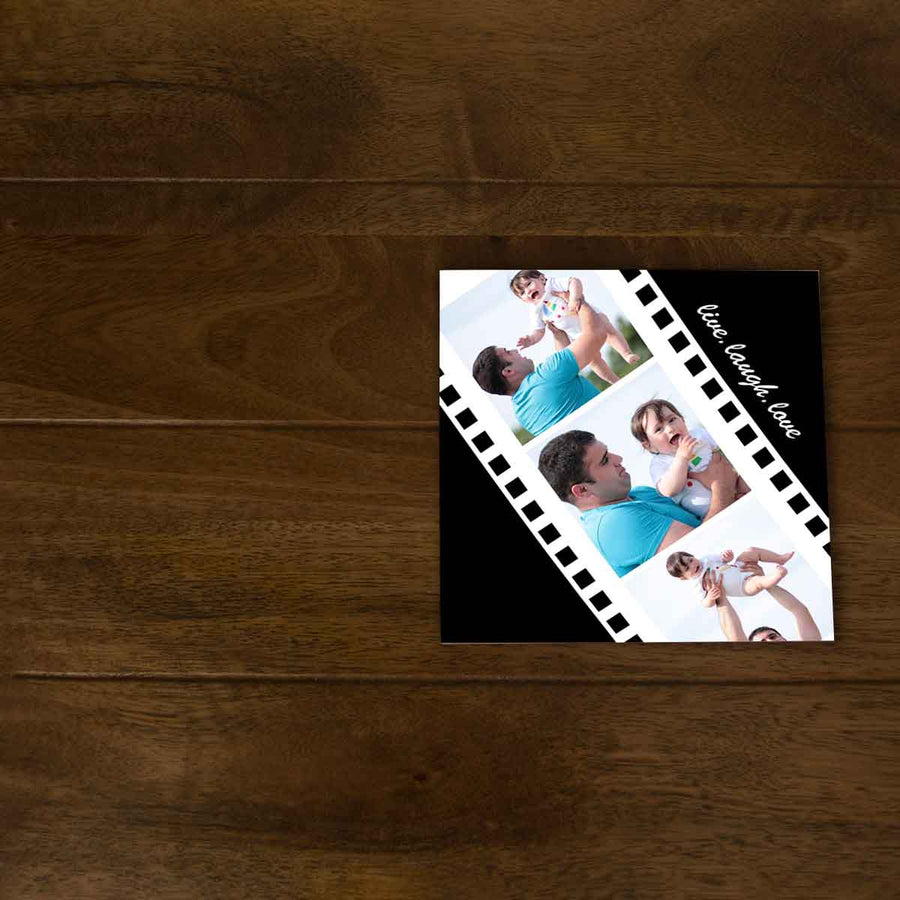Softcover Photo Books-Negative Reel Flip Photo Book-6 inches x 6 inches-20 Pages