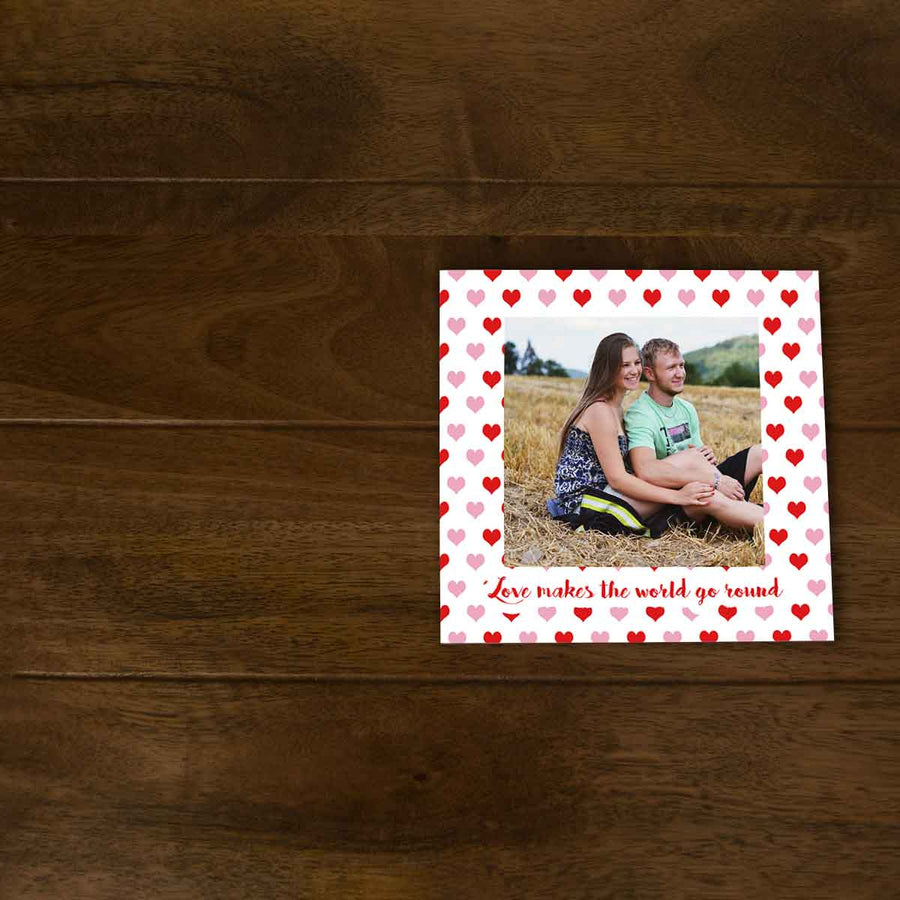 Softcover Photo Books-Love makes the world go round Flip Photo Book-6 inches x 6 inches-20 Pages