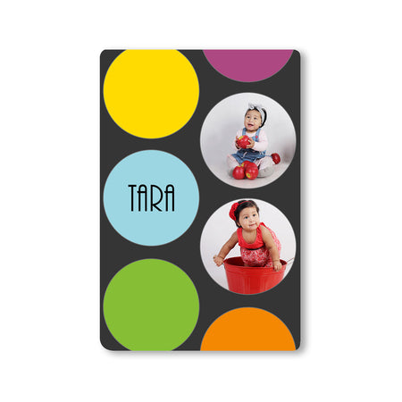 Fridge Magnets-Bubble Trouble Photo Magnet-