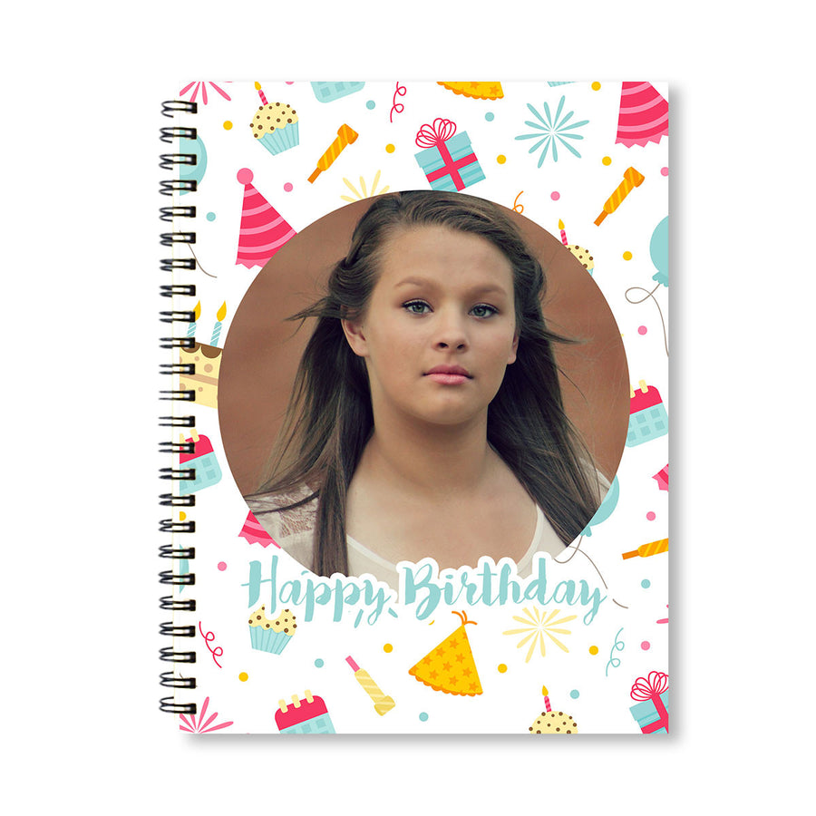 Notebooks-Birthday Pattern Notebook-