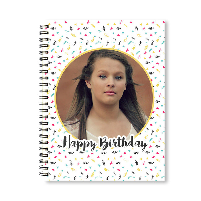 Notebooks-Birthday Confetti Notebook-