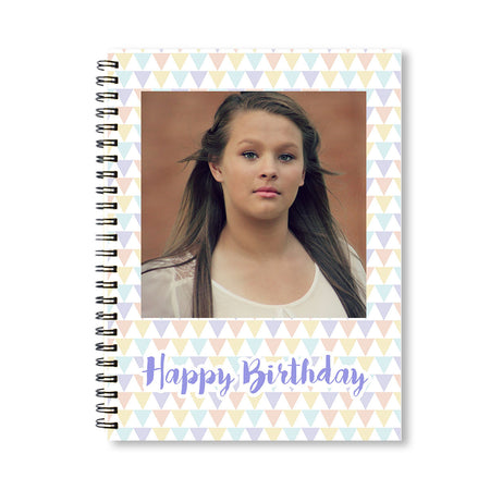 Notebooks-Birthday Triangles Notebook-