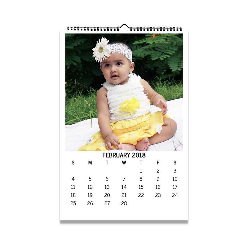 Calendars-2018 Wall Calendar - Square-White-