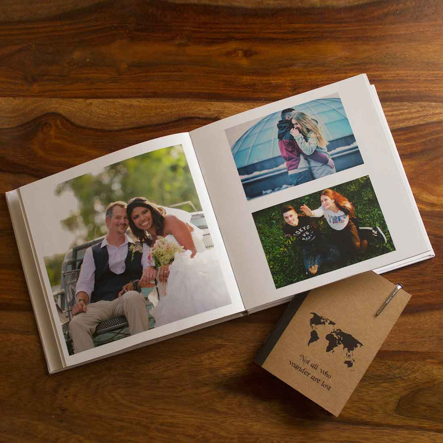 Hardcover Photo Books-Instasquare Classic White Hardbound Photobook-
