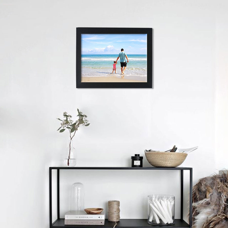 Photo Frames-Mighty Photo Frames (From 12in x 18in)-12in x 18in-Black