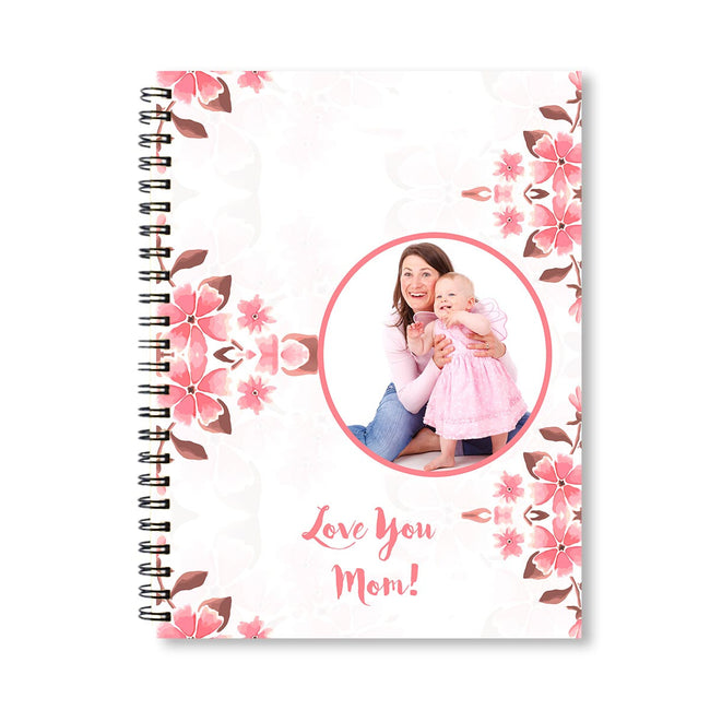 Notebooks-Spring Pink Floral Notebook-