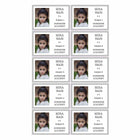 Stickers & Labels-School Name Label Stickers - Grey Border-Pack of 10-