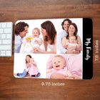 Mousepads-My Family Collage Mousepad-