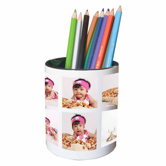 Mugs Classic Collage of 6 Pen Stand