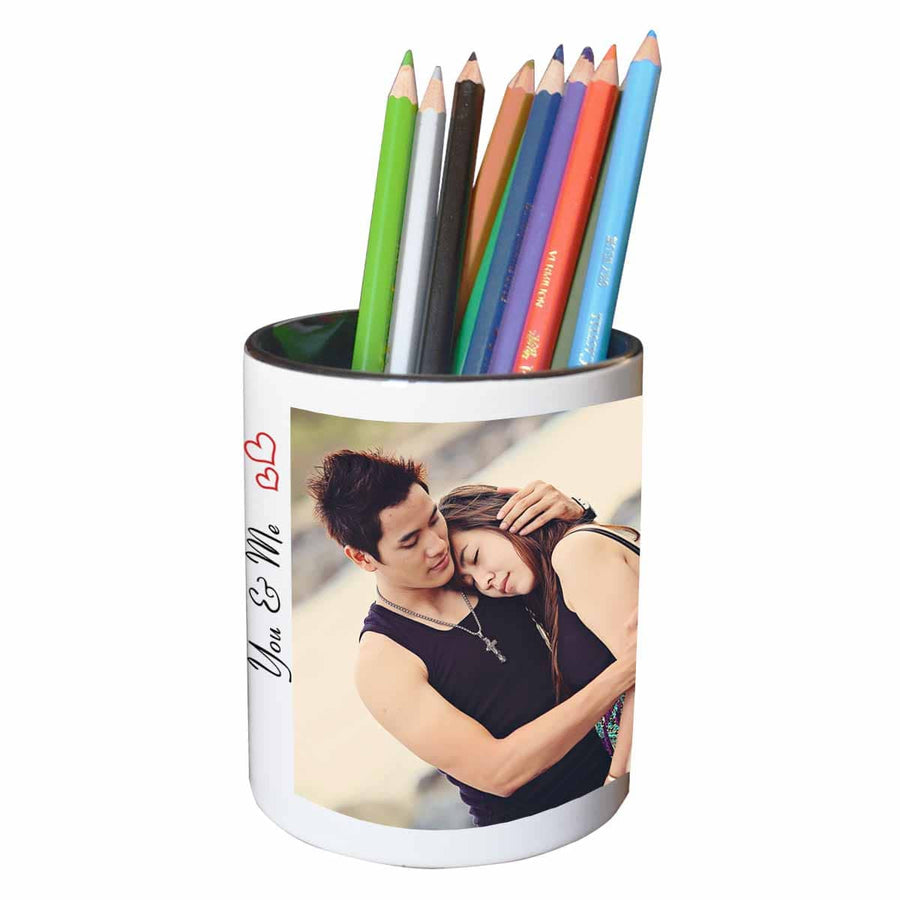 Mugs Classic Collage of 2 Pen Stand