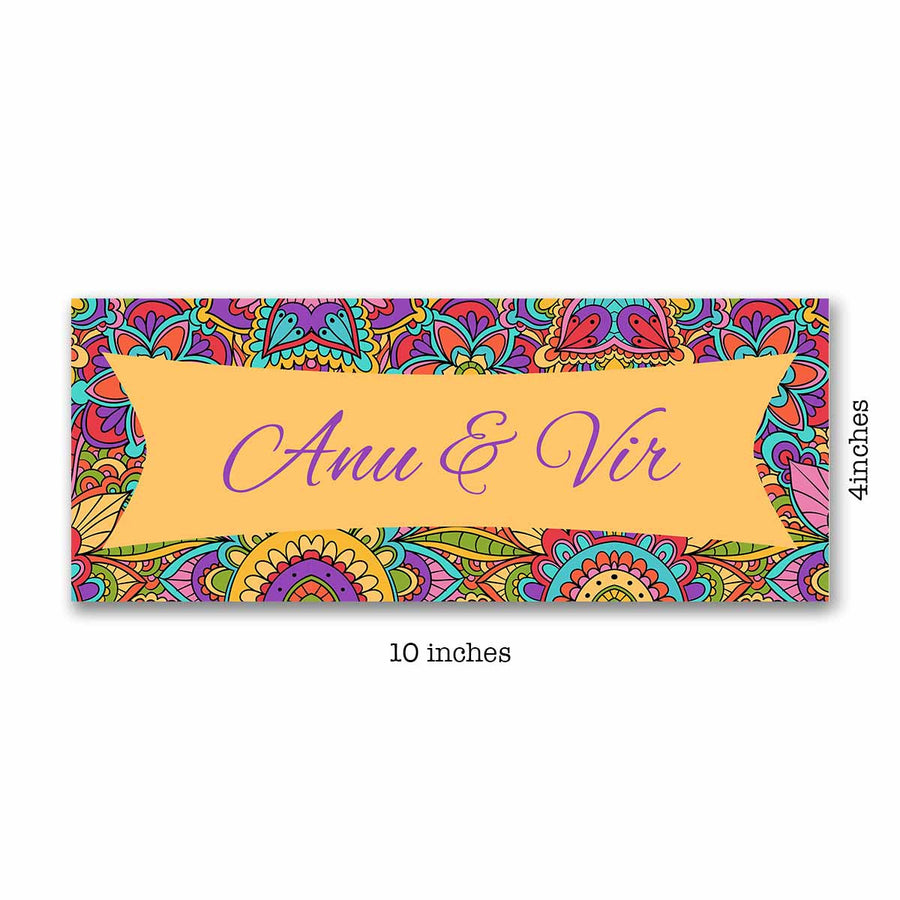 Name Plates-Quirky Mosaic Name Plate-Sunboard-