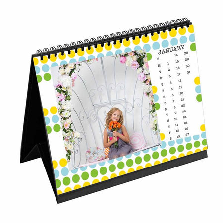 Calendars-2018 Desk Calendar Bubble Trouble-