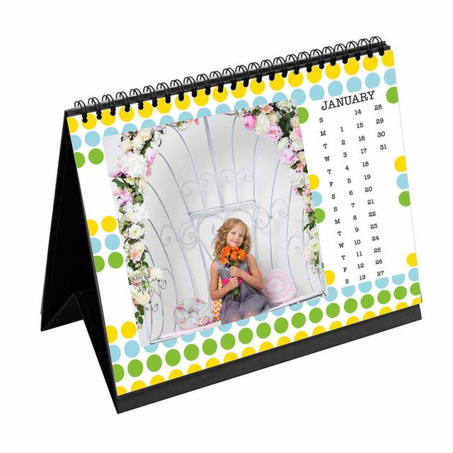 Calendars-2019 Desk Calendar Bubble Trouble-6 inches x 8 inches-
