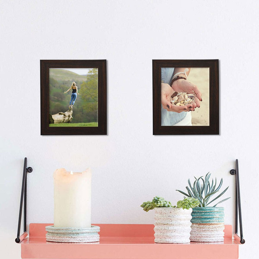 Photo Walls-Macro Framed Prints Set of 2-6in x 8in-Brown