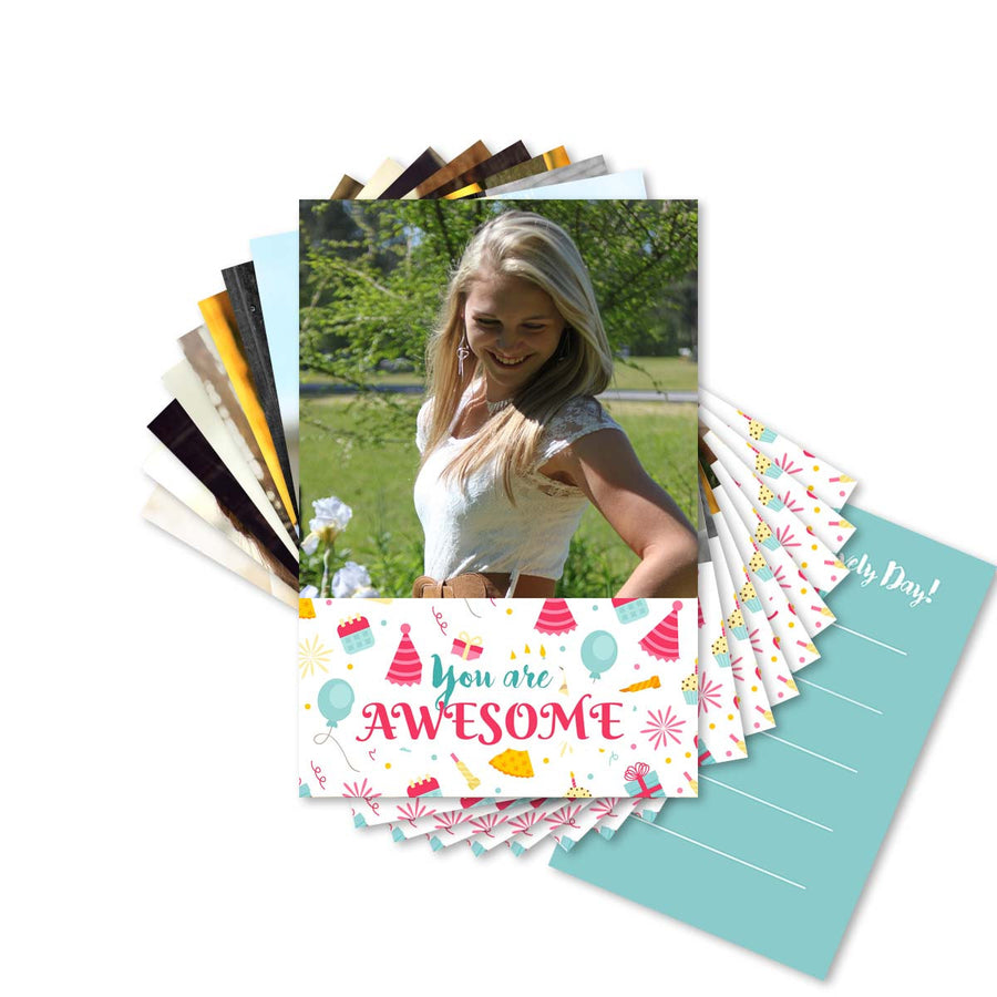 Cards-Birthday Pattern Cards-