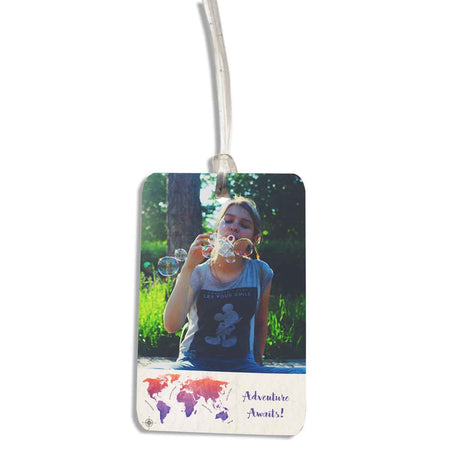Luggage Tags-Adventure Awaits Luggage Tag-