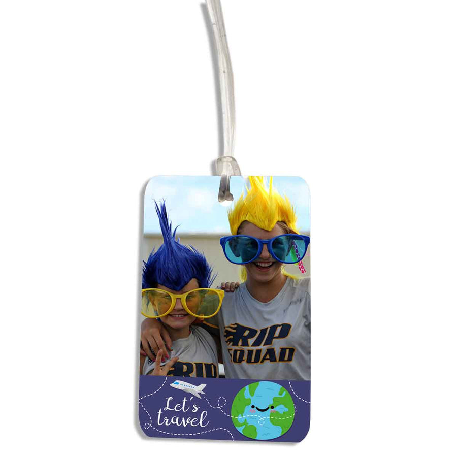Lets Travel Luggage Tag