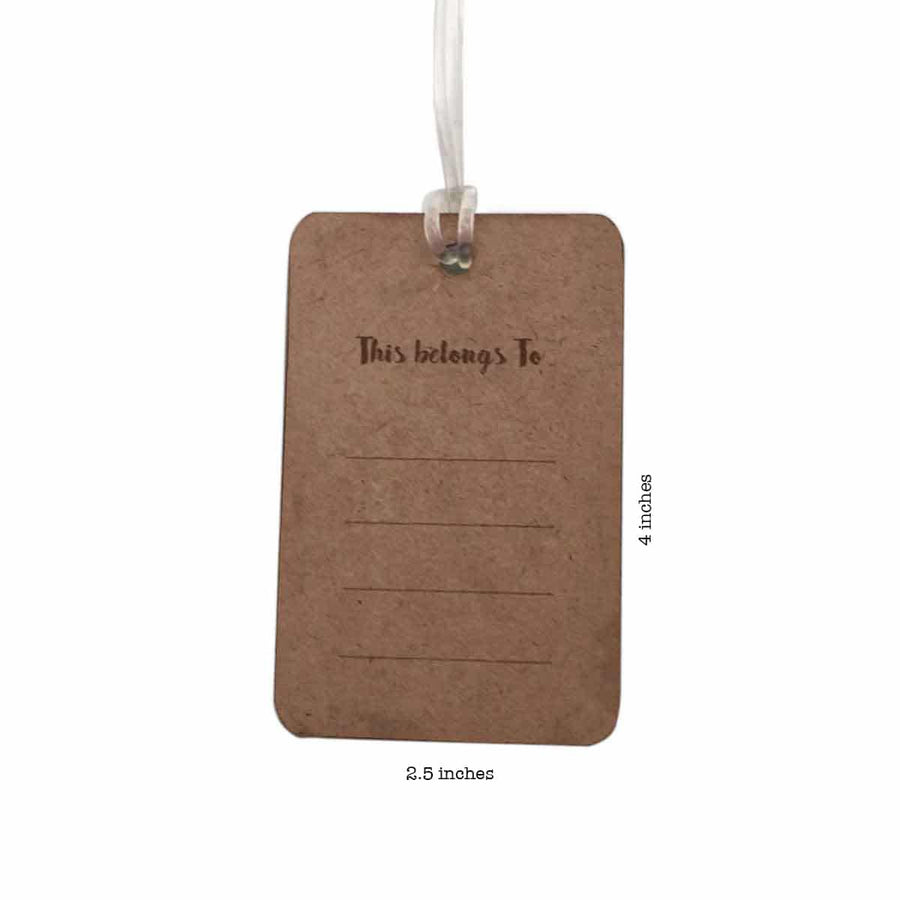 Say Yes to New Adventures Luggage Tag