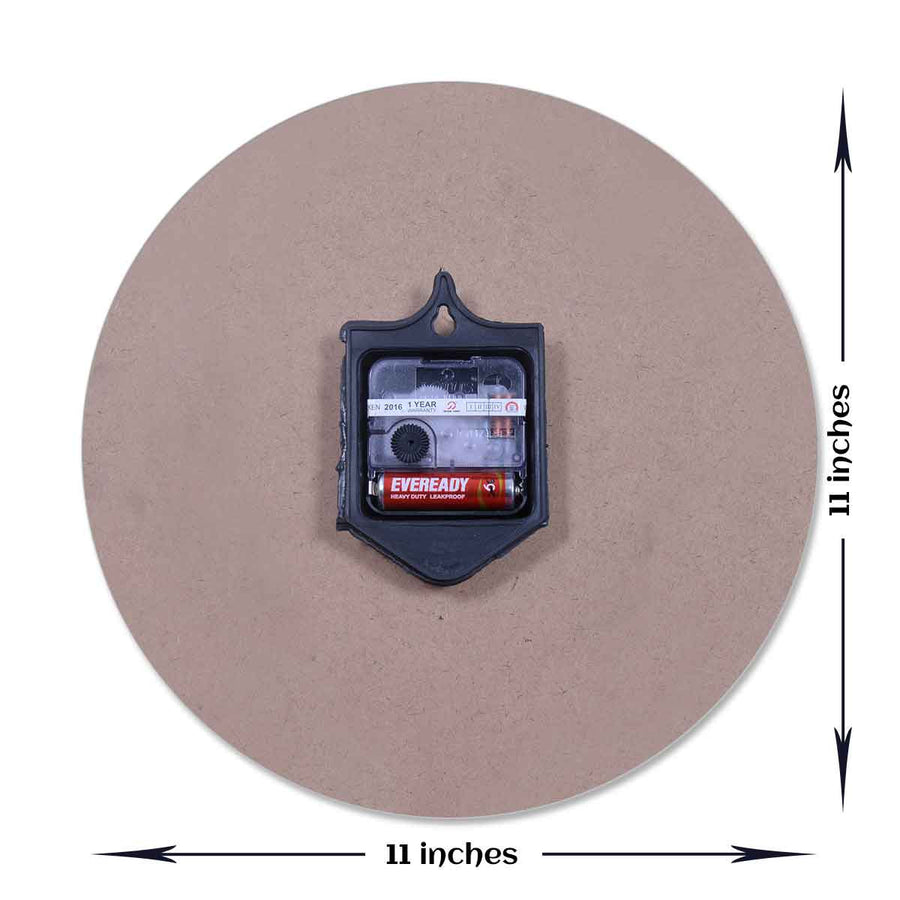 Photo Clocks-Bubble Trouble Photo Clock Round-