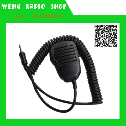 speaker MIC Dual PPT handheld Microphone for for YAESU CB ham radio VX-7R VX-6R VX-120 VX-170 VX-177 FT270 walkie talkie - Terrys Radio Shop