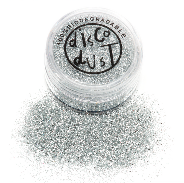 Biodegradable Glitter - Silver 3g pot