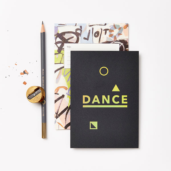 Dance Greetings Card