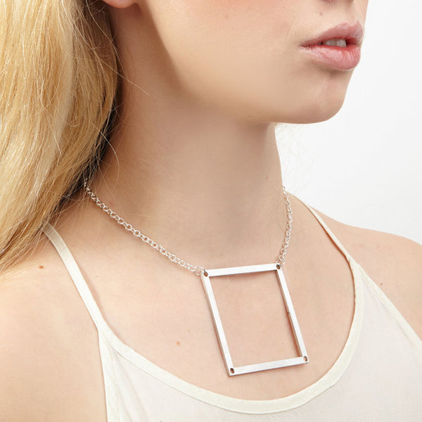 Boxed Up Necklace