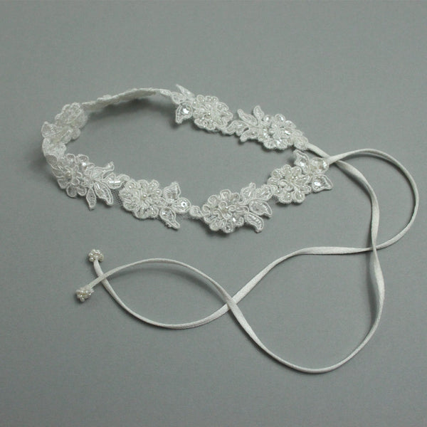 Lace Tie Up Garter
