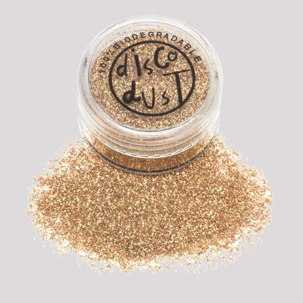 Biodegradable Glitter - Gold 3g pot