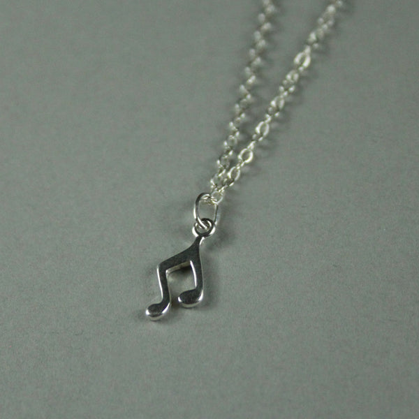 Good Vibes Charm Necklace - MUSIC