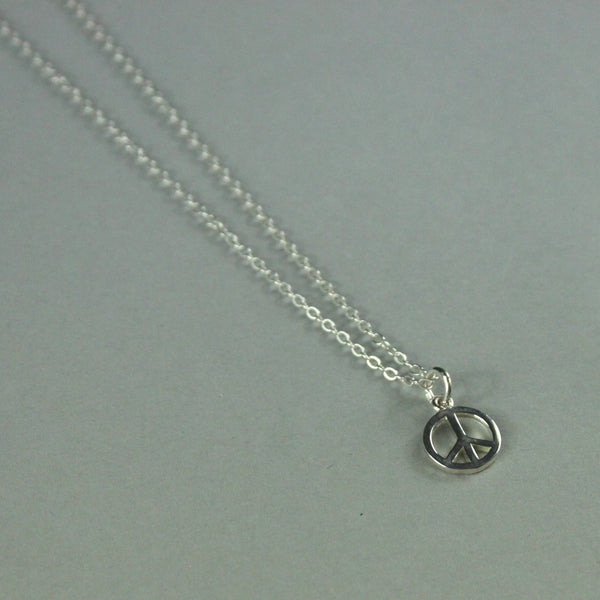 Good Vibes Charm Necklace - PEACE
